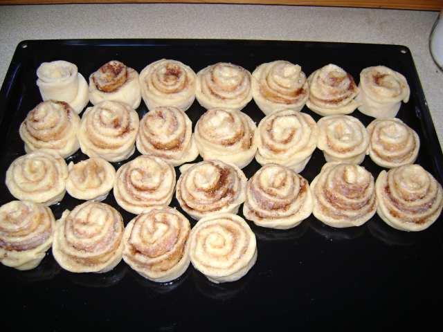 Сладкие булочки с корицей - вкусный рецепт и приготовление 3