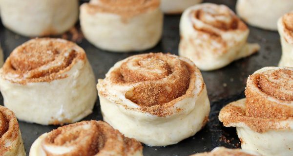 Сладкие булочки с корицей - вкусный рецепт и приготовление 4