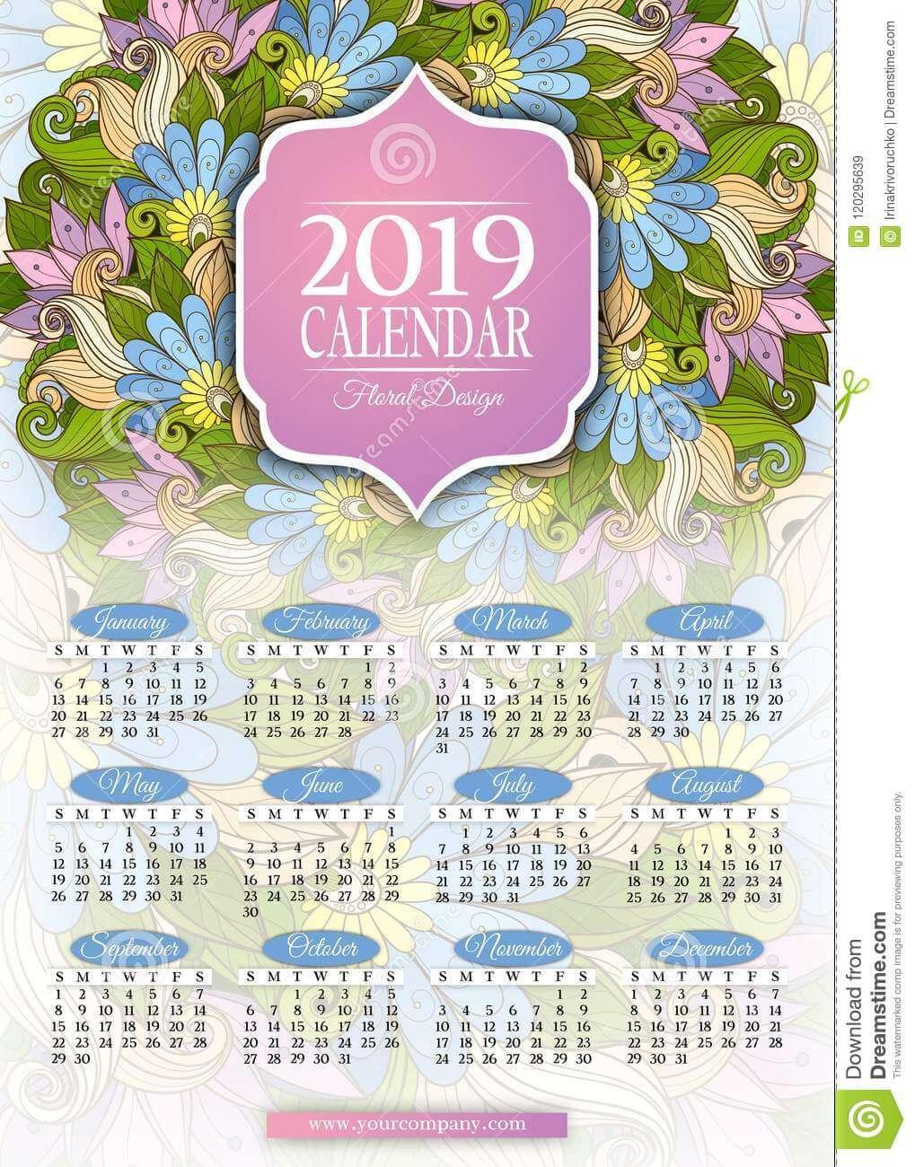 Красивые календари на 2019 год - отличная подборка 18