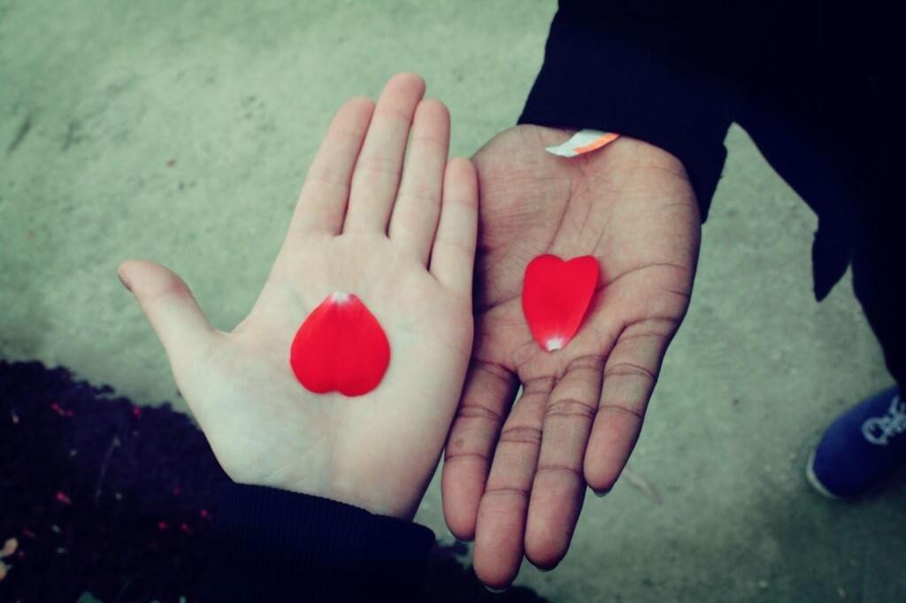 """Прикольные и красивые картинки """"Два сердца"""" - сборка 1"""