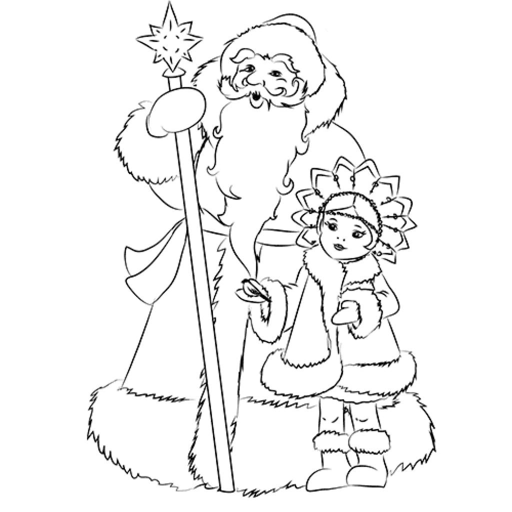 Лучшие рисунки на Новый год для срисовки - 20 картинок 1