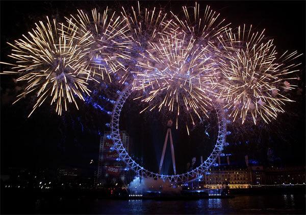 Красивые картинки Новый год в Англии - подборка фотографий 5