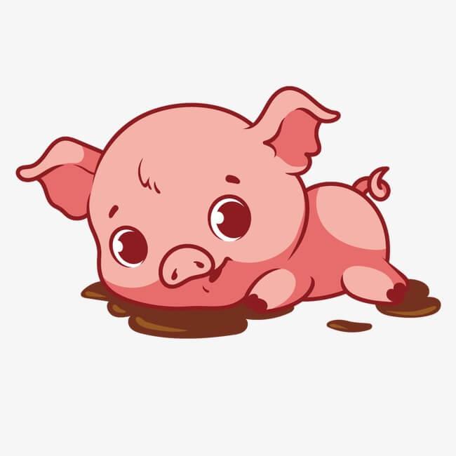 Прикольные картинки свиньи для срисовки - подборка 11
