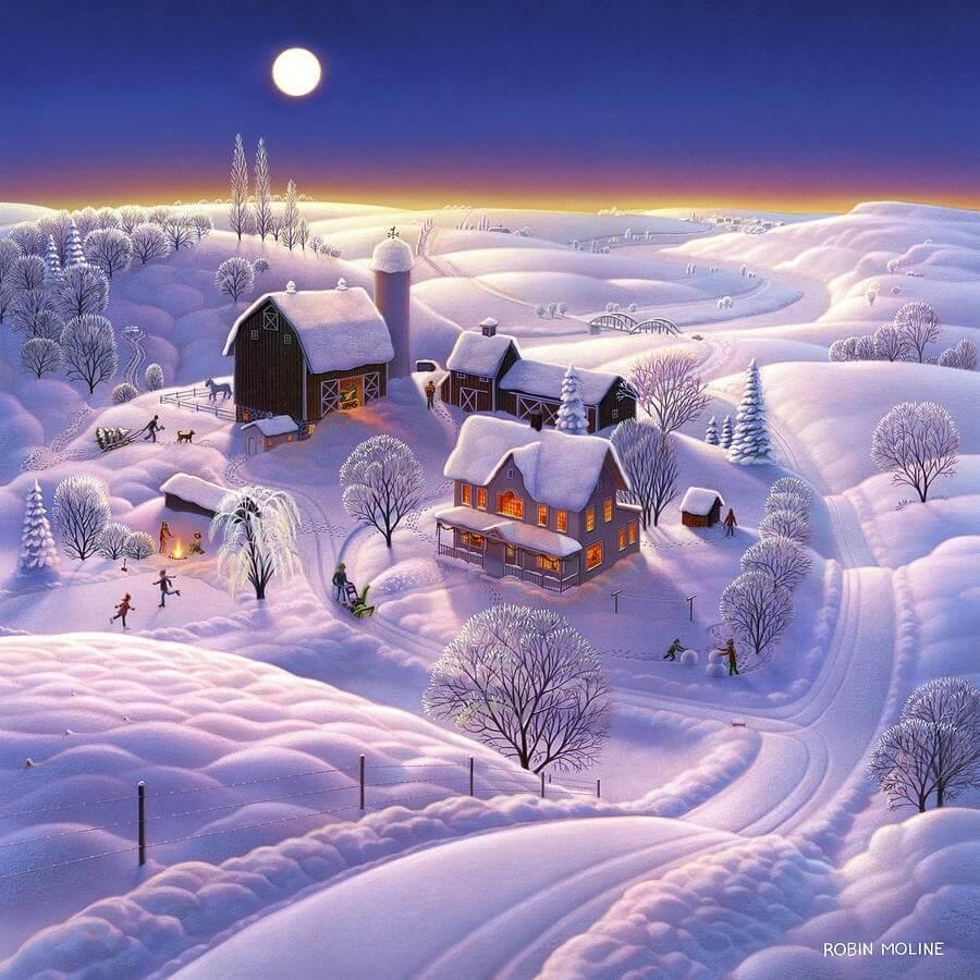 Зимнее настроение - фото и картинки красивые, приятные 6