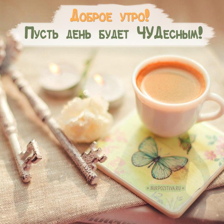 Красивые открытки с добрым утром и хорошим днем - подборка 7
