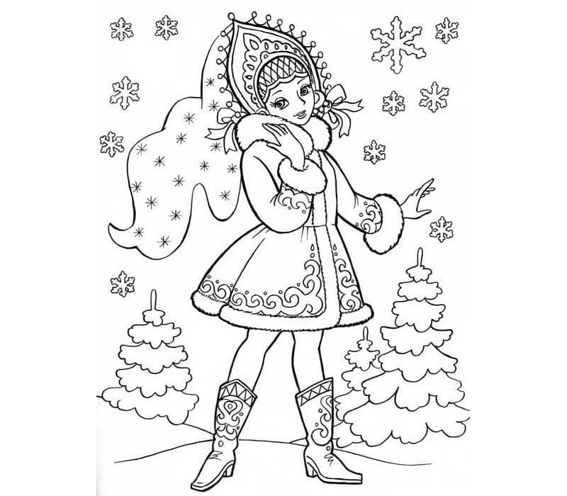 Новый год 2019 картинки для срисовки и рисования - сборка (19 картинок) 4
