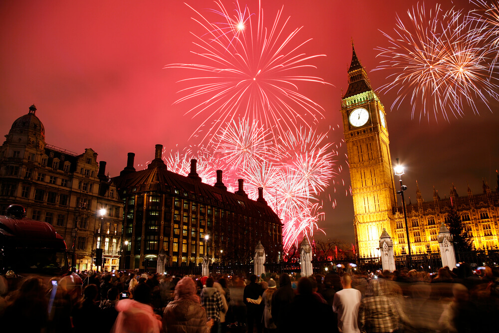Красивые картинки Новый год в Англии - подборка фотографий 2