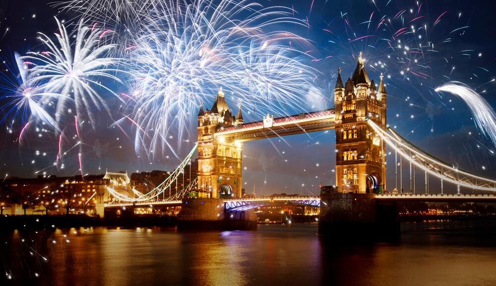 Красивые картинки Новый год в Англии - подборка фотографий 3