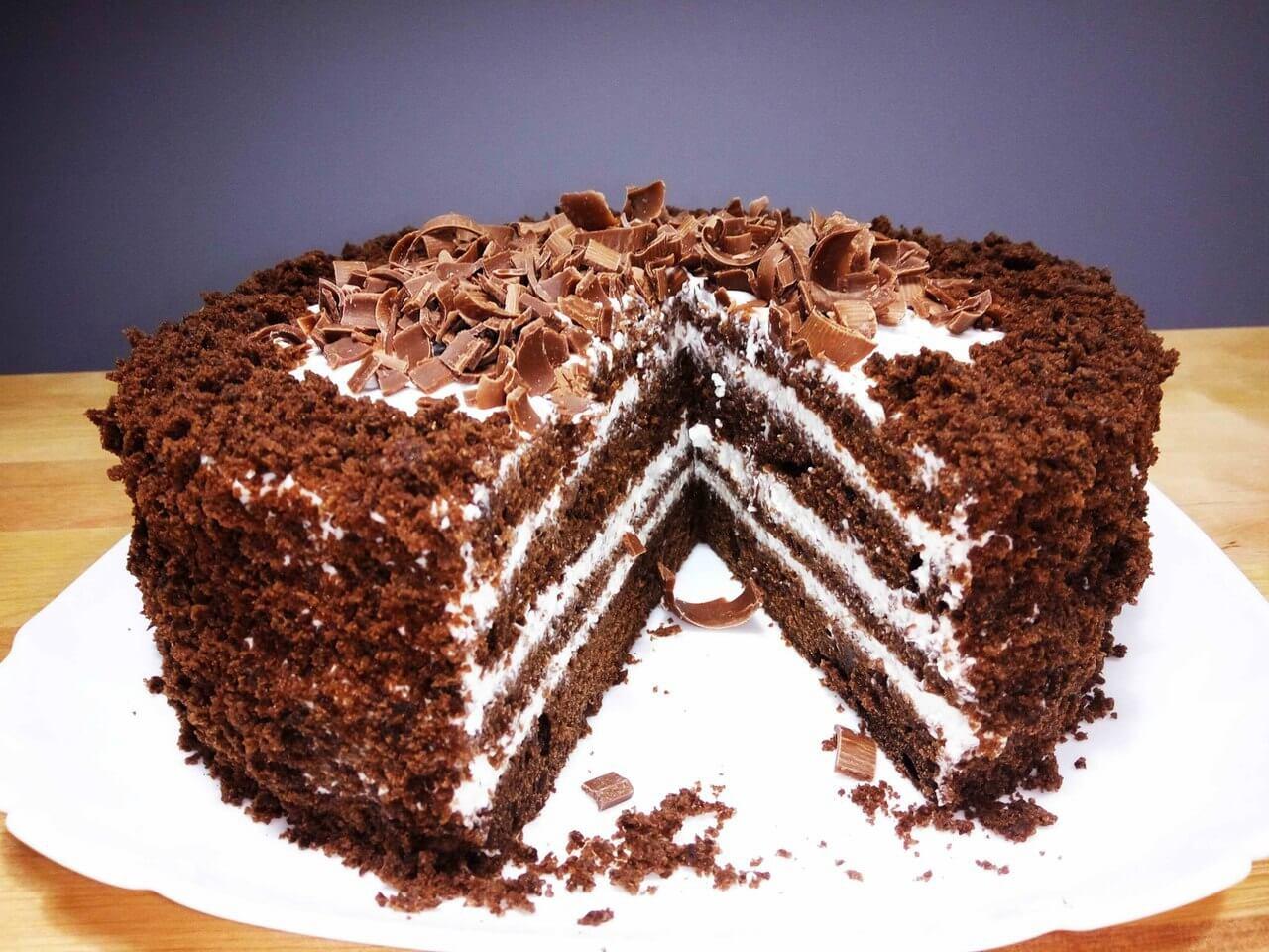 Самый вкусный шоколадный торт - подборка фото 4