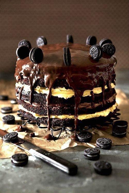 Самый вкусный шоколадный торт - подборка фото 5