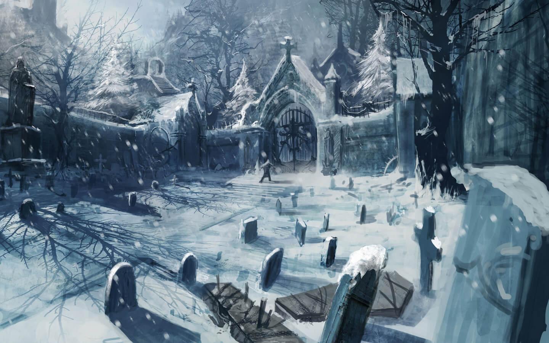 Декабрь и зима - удивительные картинки, рисунки, арты 2