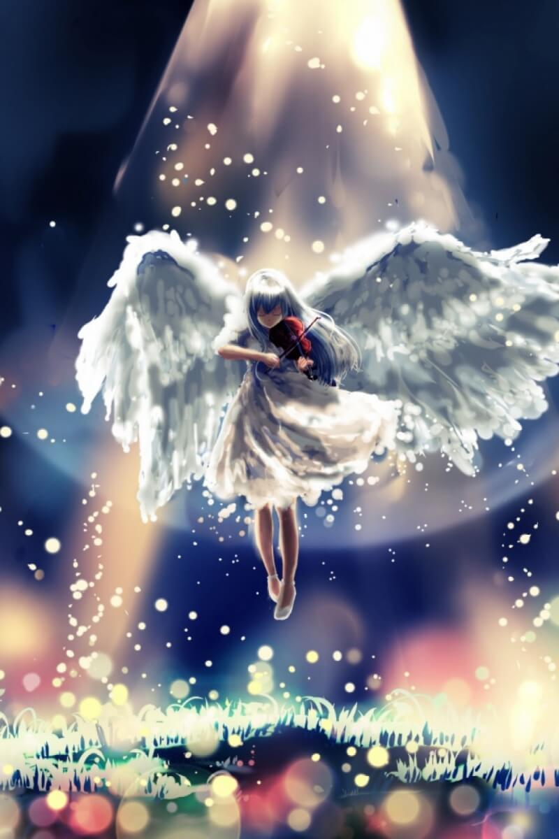 Классные картинки на заставку телефона Ангелы - подборка 3