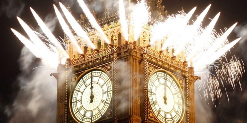 Красивые картинки Новый год в Англии - подборка фотографий 4