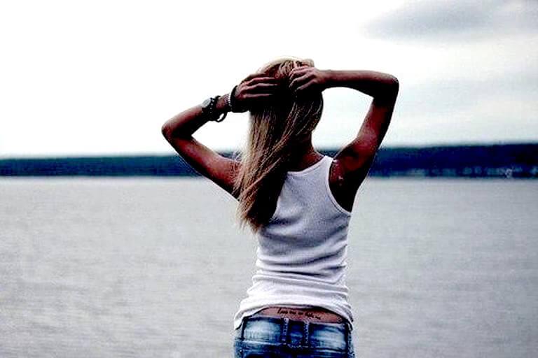 Картинки девушек на аву со спины - красивые и крутые 3