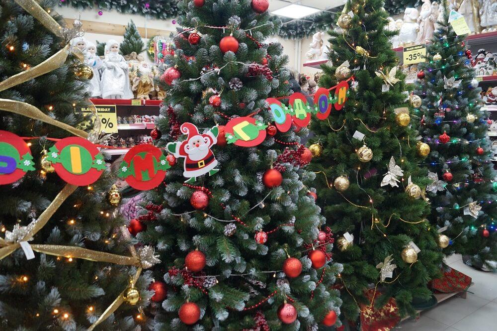 Красивые фото и картинки новогодней елки 2019 - подборка 1