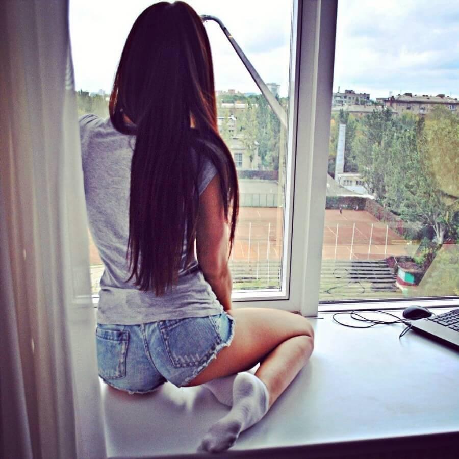 Картинки девушек на аву со спины - красивые и крутые 4