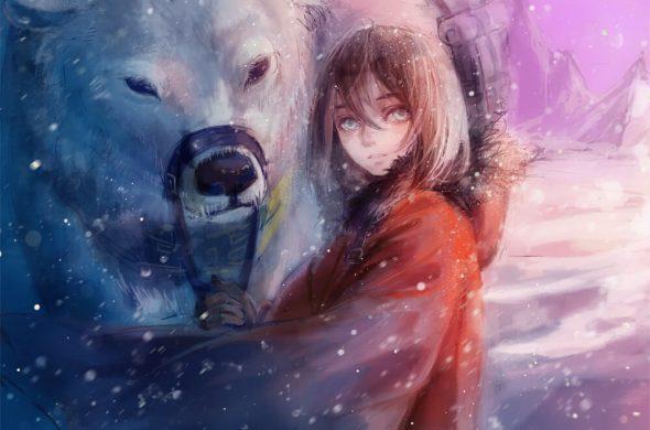 Декабрь и зима - удивительные картинки, рисунки, арты 6