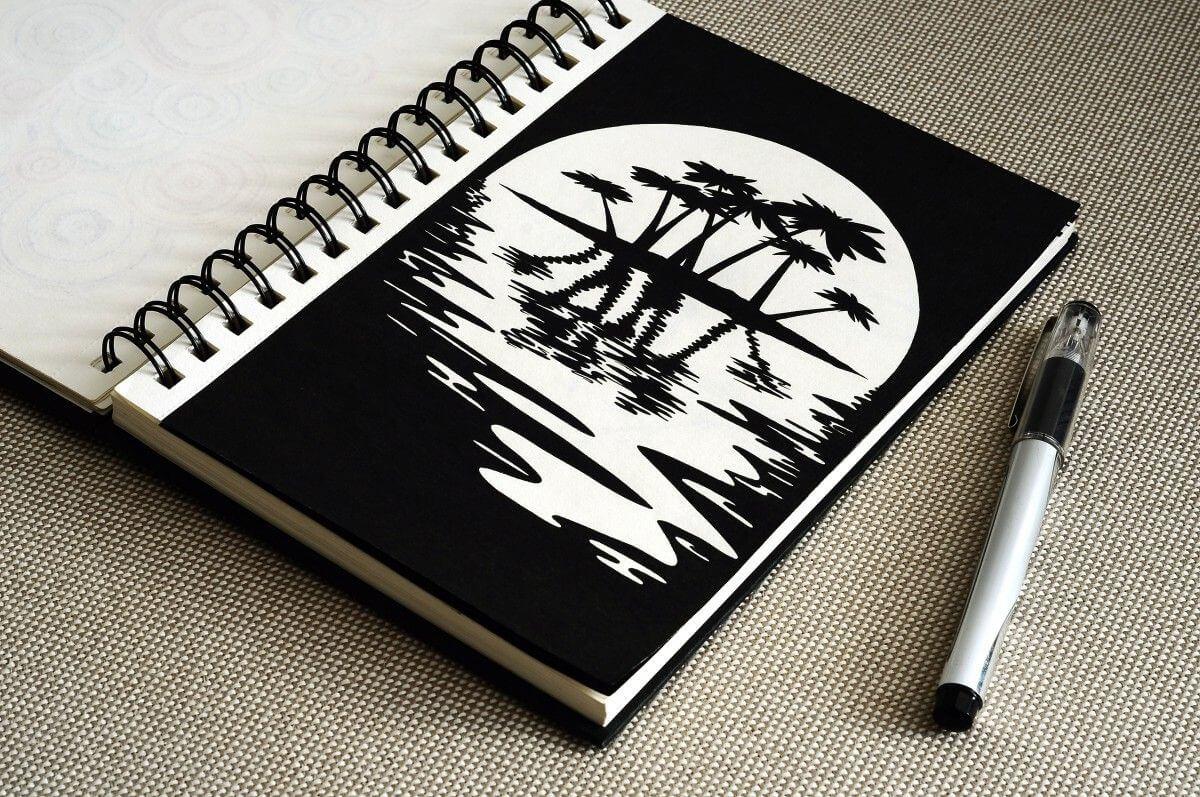 Прикольные и легкие картинки для срисовки в скетчбук - сборка 1