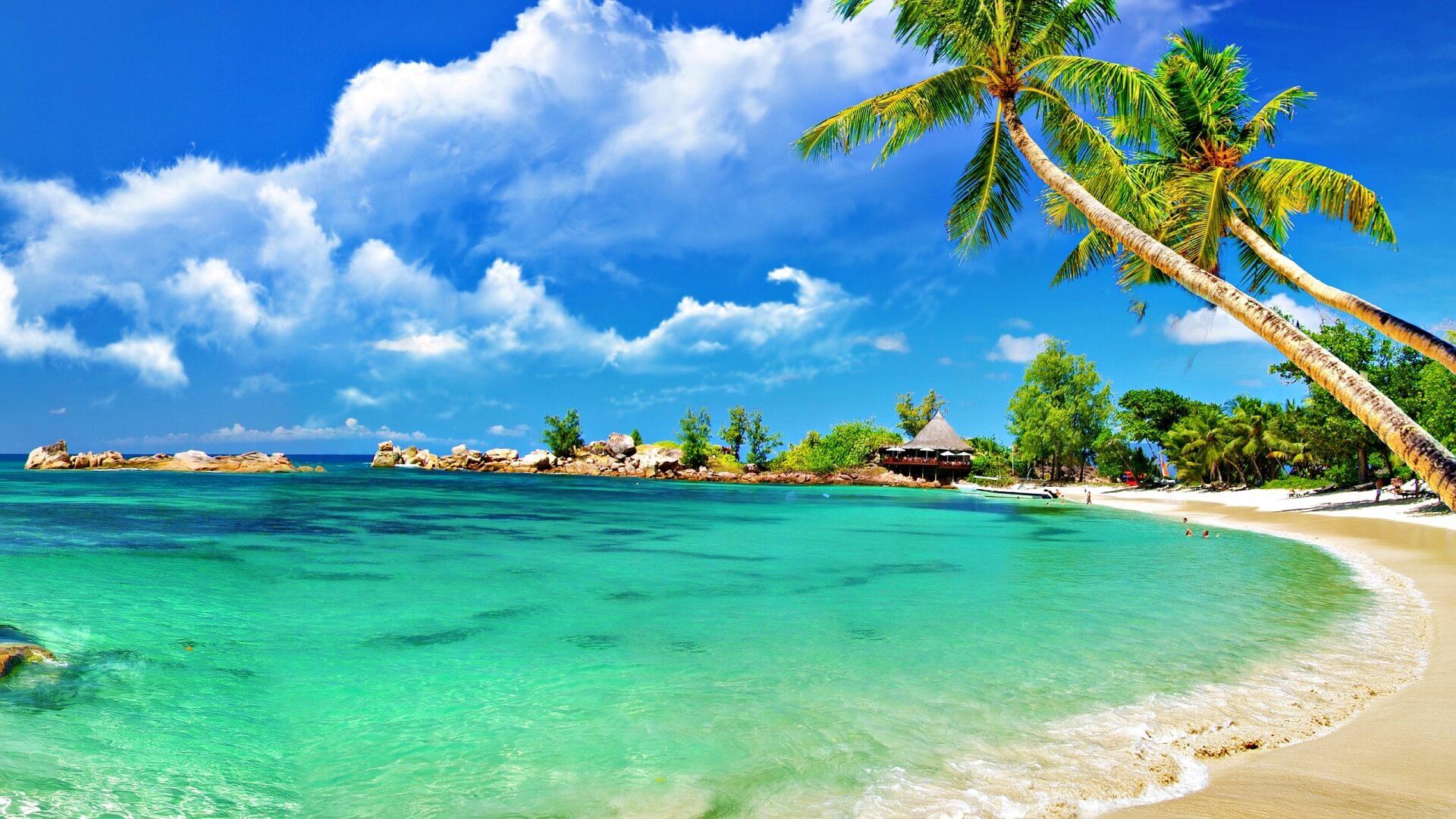 Красивые картинки пляжа для рабочего стола - подборка 1