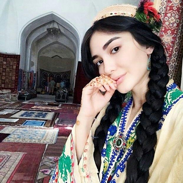 Красивая Зарина Низомиддинова - фотографии и картинки 1