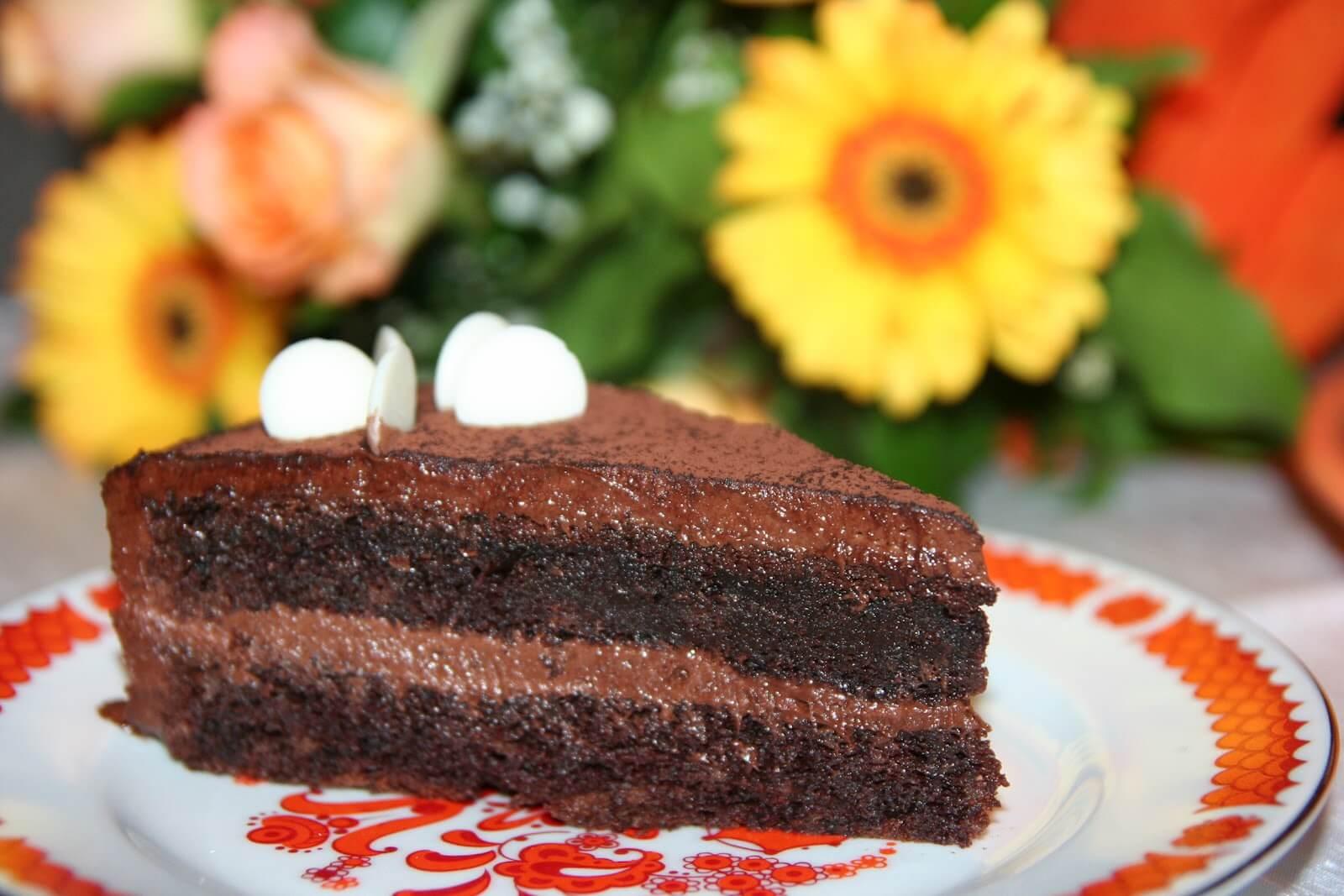 Самый вкусный шоколадный торт - подборка фото 15