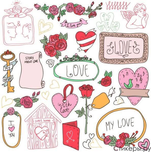 Скачать бесплатно самые лучшие картинки для личного дневника девушкам 5