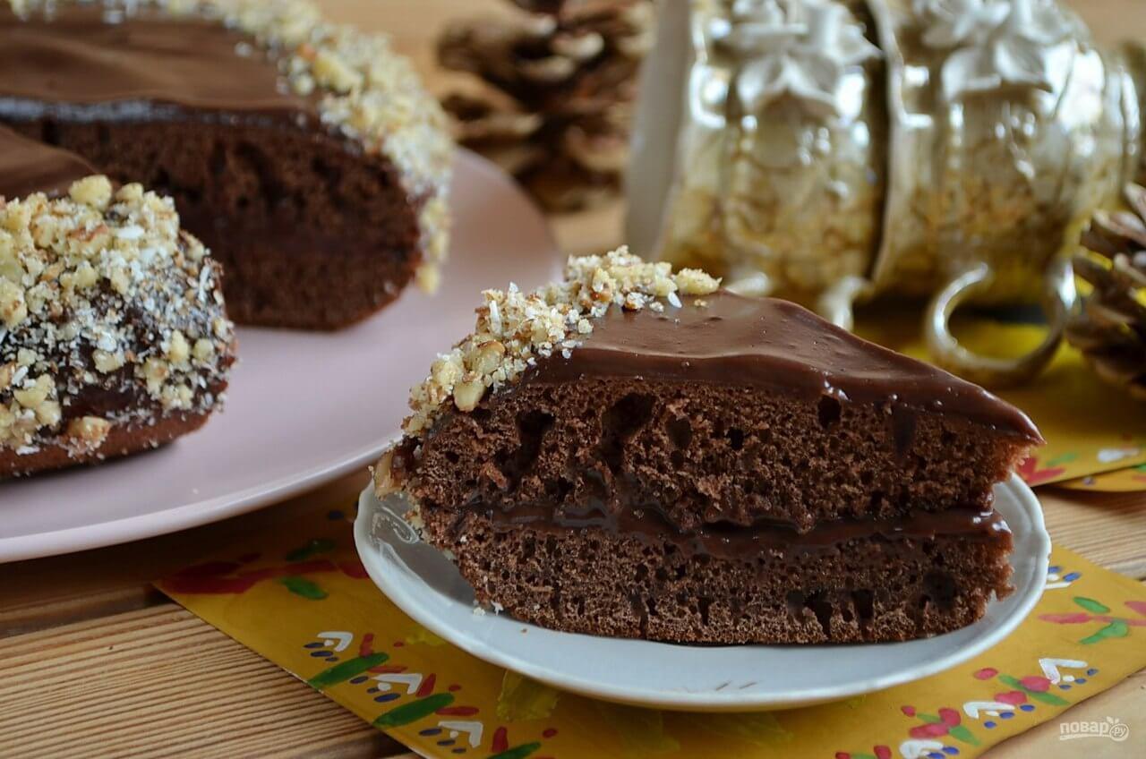 Самый вкусный шоколадный торт - подборка фото 19