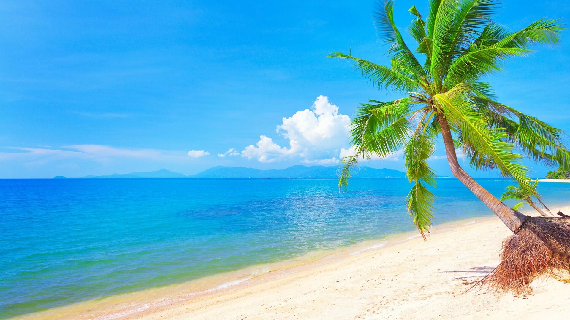 Красивые картинки пляжа для рабочего стола - подборка 11