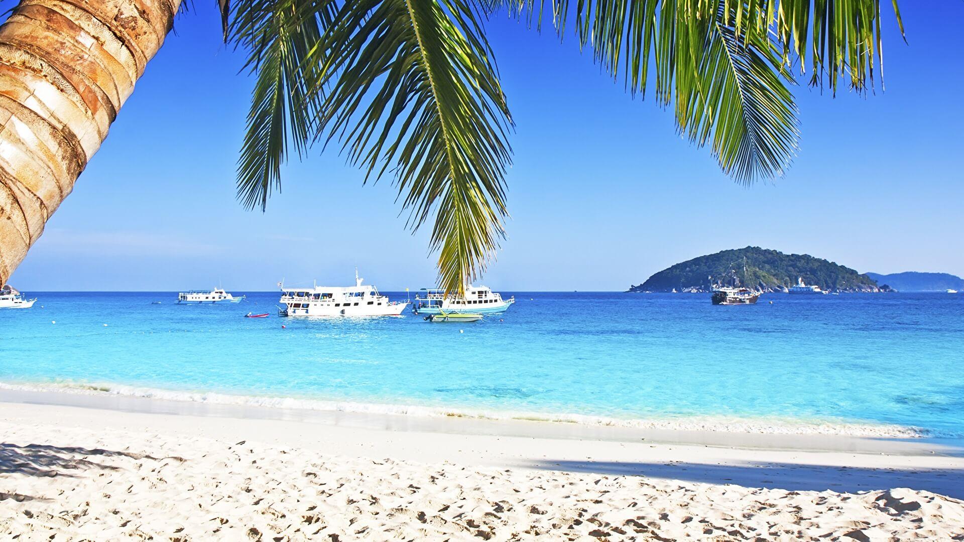 Красивые картинки пляжа для рабочего стола - подборка 13