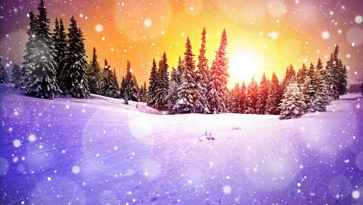 Зимнее настроение - фото и картинки красивые, приятные 14