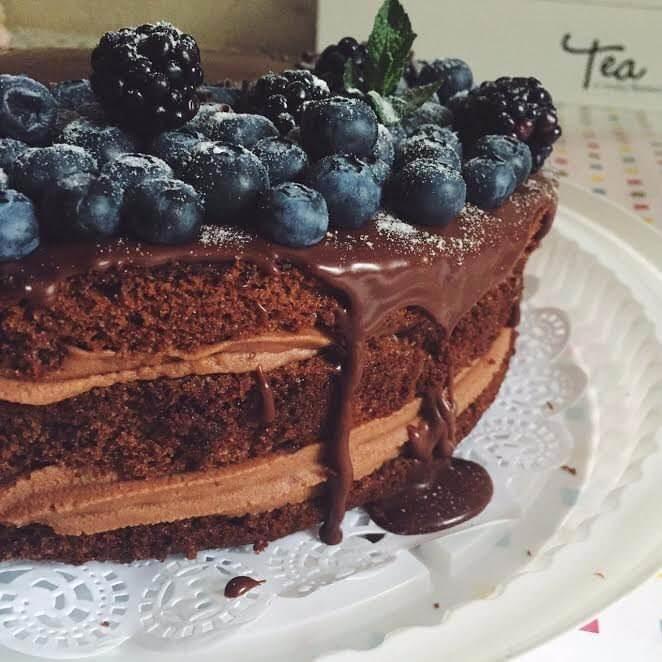 Самый вкусный шоколадный торт - подборка фото 6
