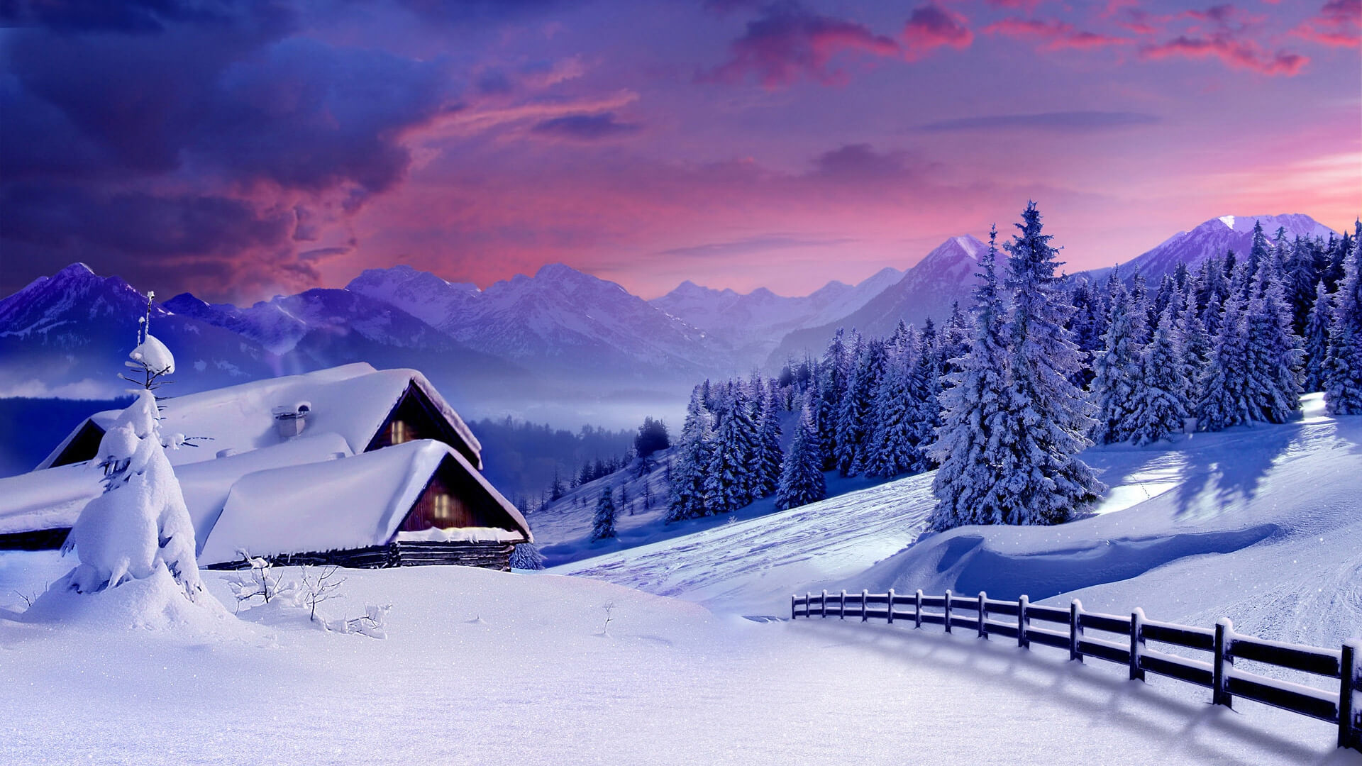 Зимнее настроение - фото и картинки красивые, приятные 7