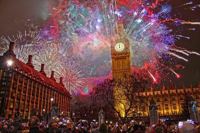 Красивые картинки Новый год в Англии - подборка фотографий 6
