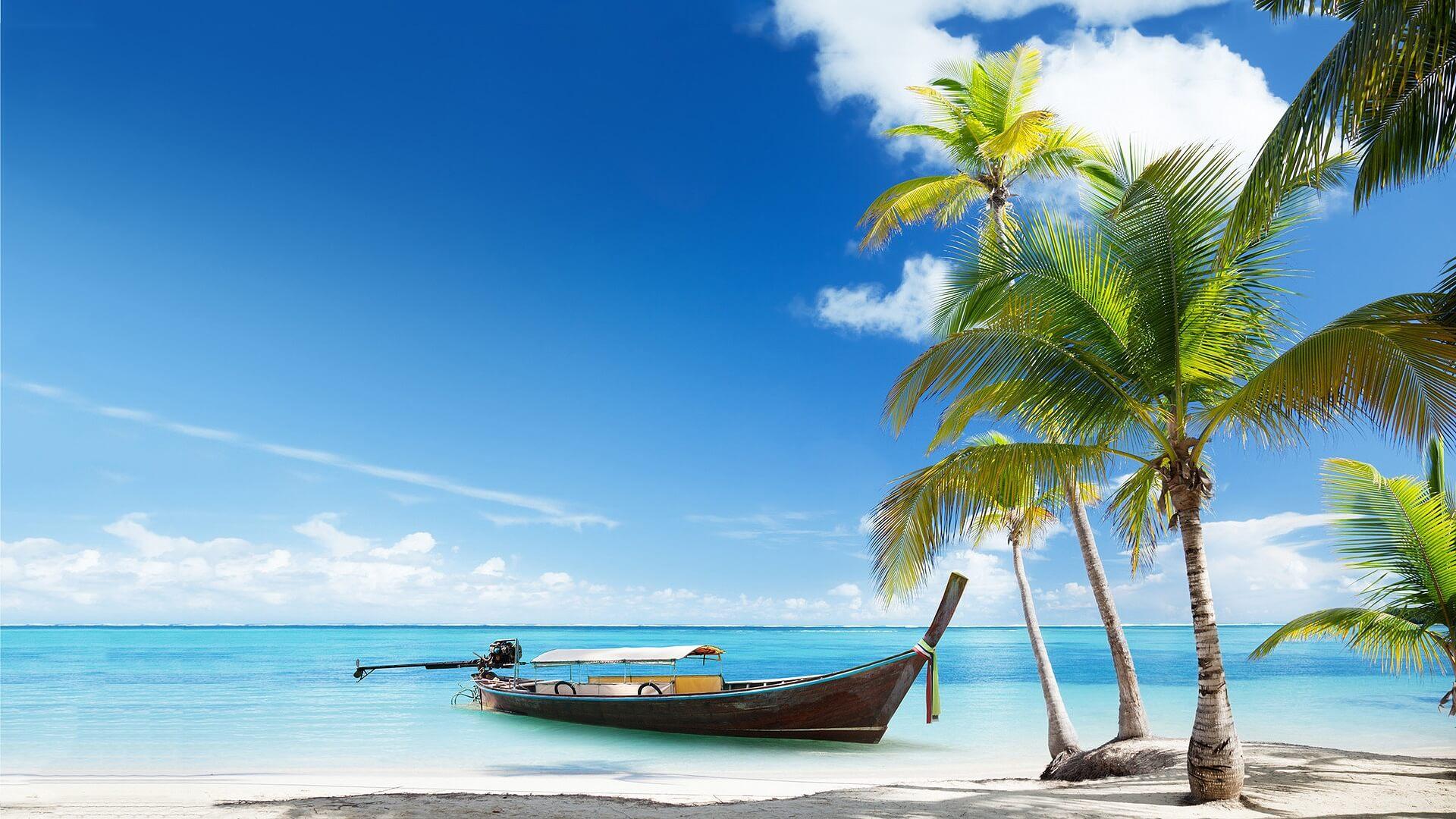 Красивые картинки пляжа для рабочего стола - подборка 5