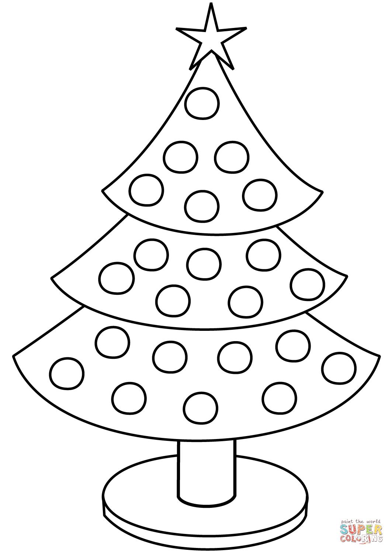 Картинки и рисунки новогодней елки для детей - подборка 5