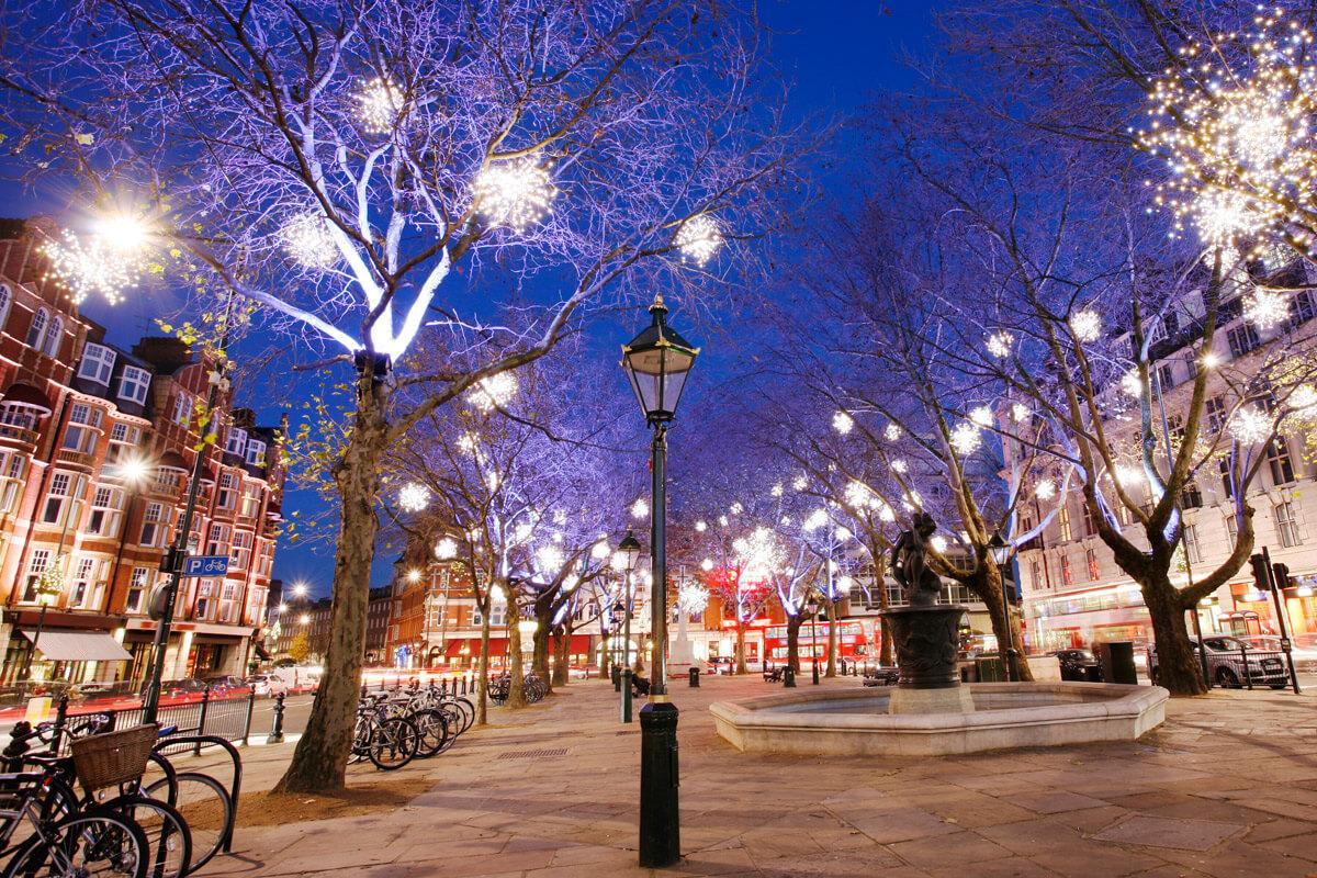 Красивые картинки Новый год в Англии - подборка фотографий 11