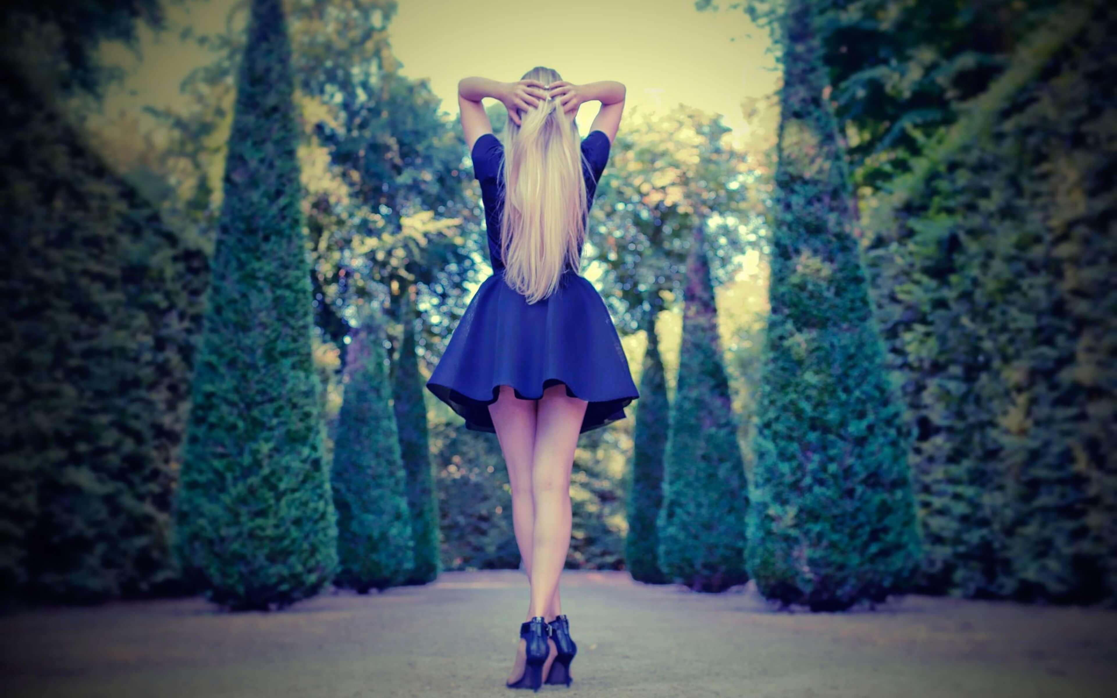 Картинки девушек на аву со спины - красивые и крутые 23