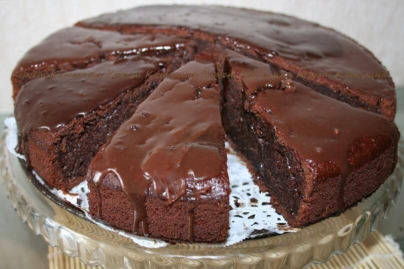 Самый вкусный шоколадный торт - подборка фото 12