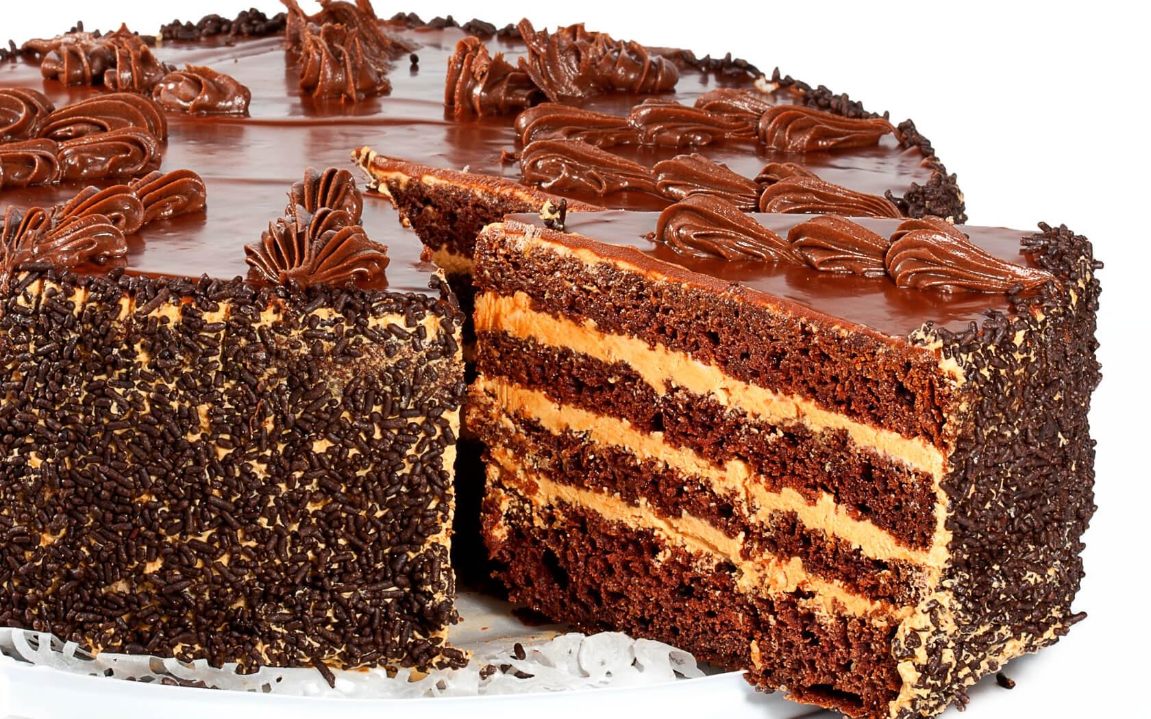 Самый вкусный шоколадный торт - подборка фото 18