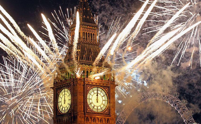 Красивые картинки Новый год в Англии - подборка фотографий 12