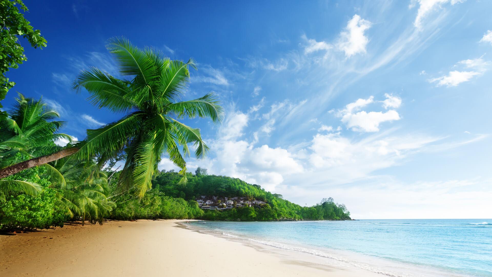 Красивые картинки пляжа для рабочего стола - подборка 8