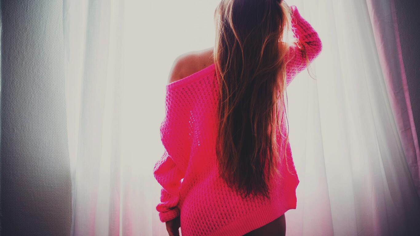 Картинки девушек на аву со спины - красивые и крутые 27