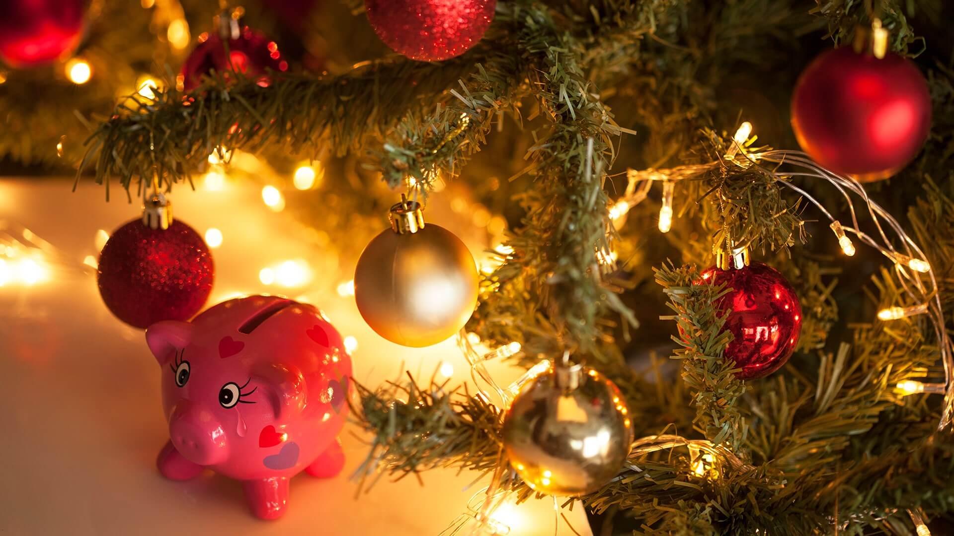 Скачать бесплатно картинки на рабочий стол Новый год свиньи 7