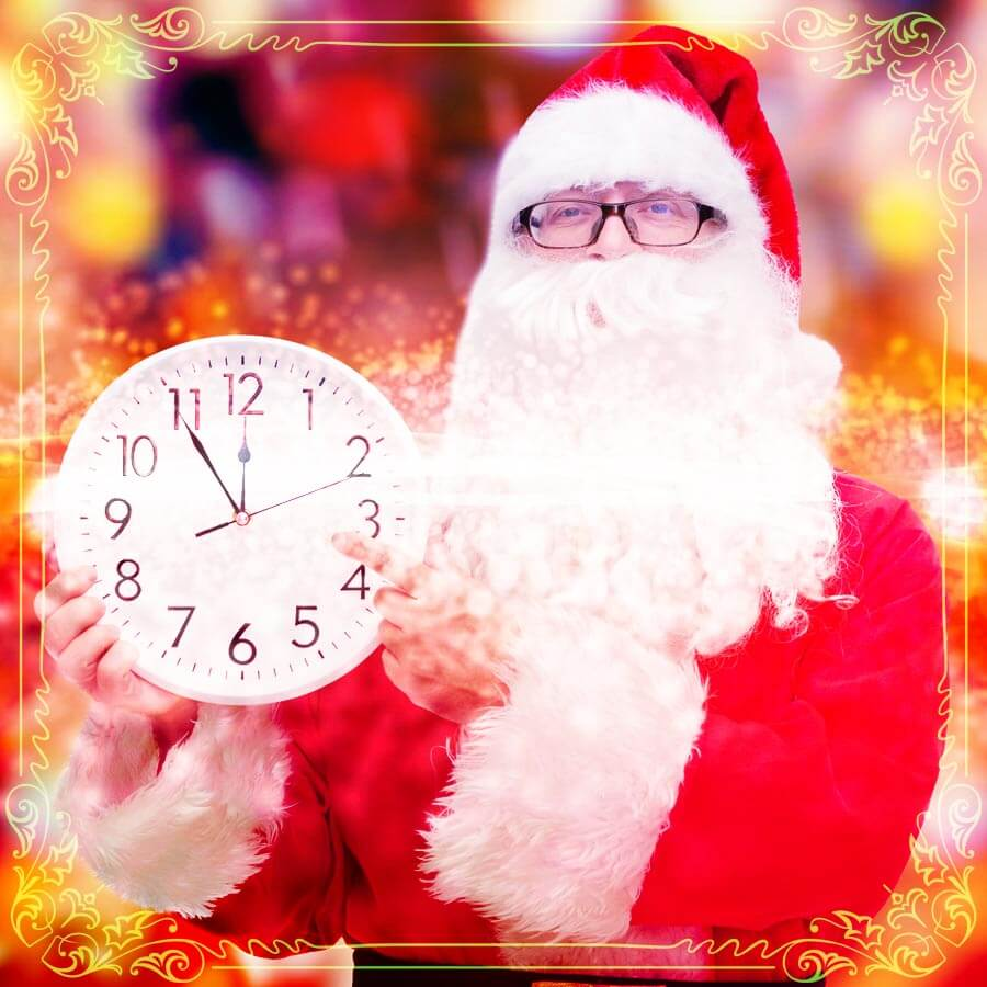 Картинки веселых и смешных Дедов Морозов 12