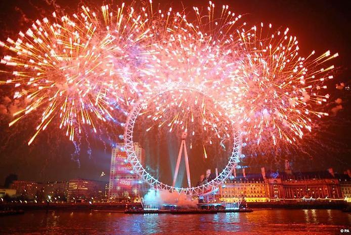Красивые картинки Новый год в Англии - подборка фотографий 13