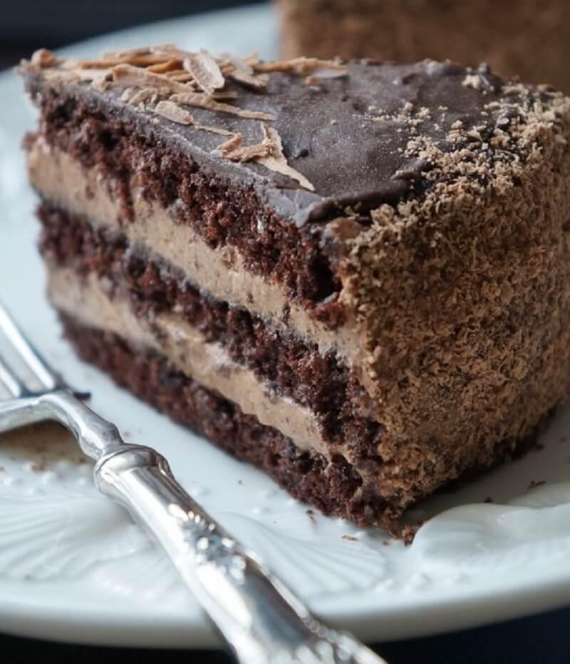 Самый вкусный шоколадный торт - подборка фото 20