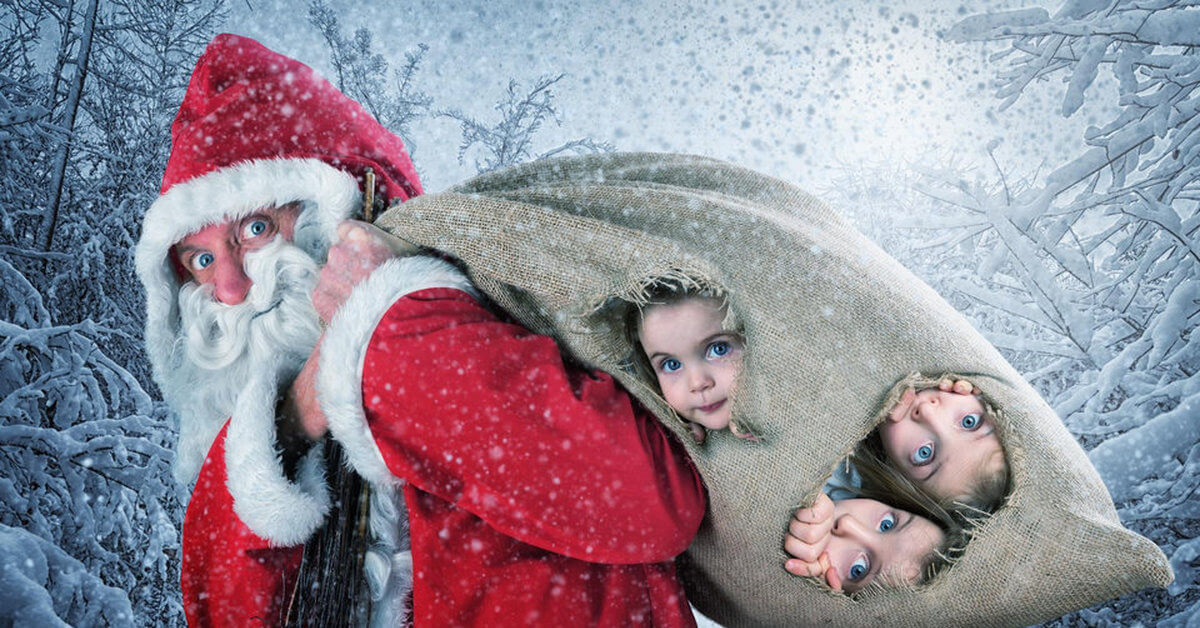 Картинки веселых и смешных Дедов Морозов 13