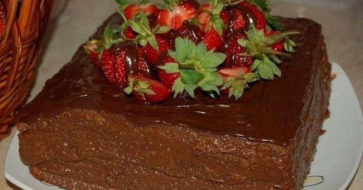 Самый вкусный шоколадный торт - подборка фото 21