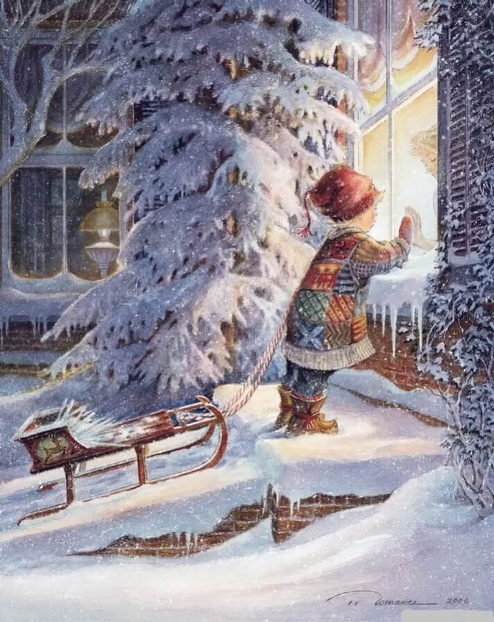 Зимнее настроение - фото и картинки красивые, приятные 12