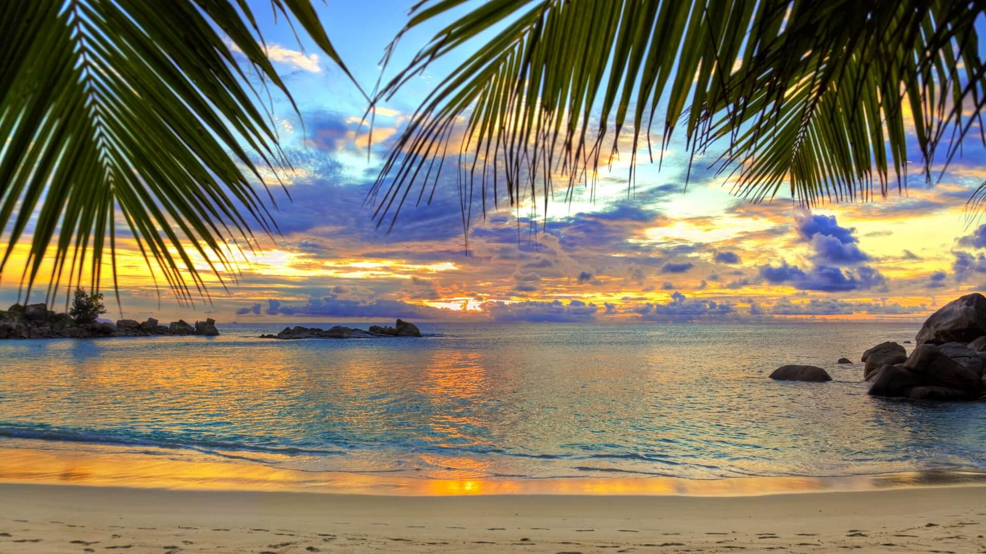 Красивые картинки пляжа для рабочего стола - подборка 9